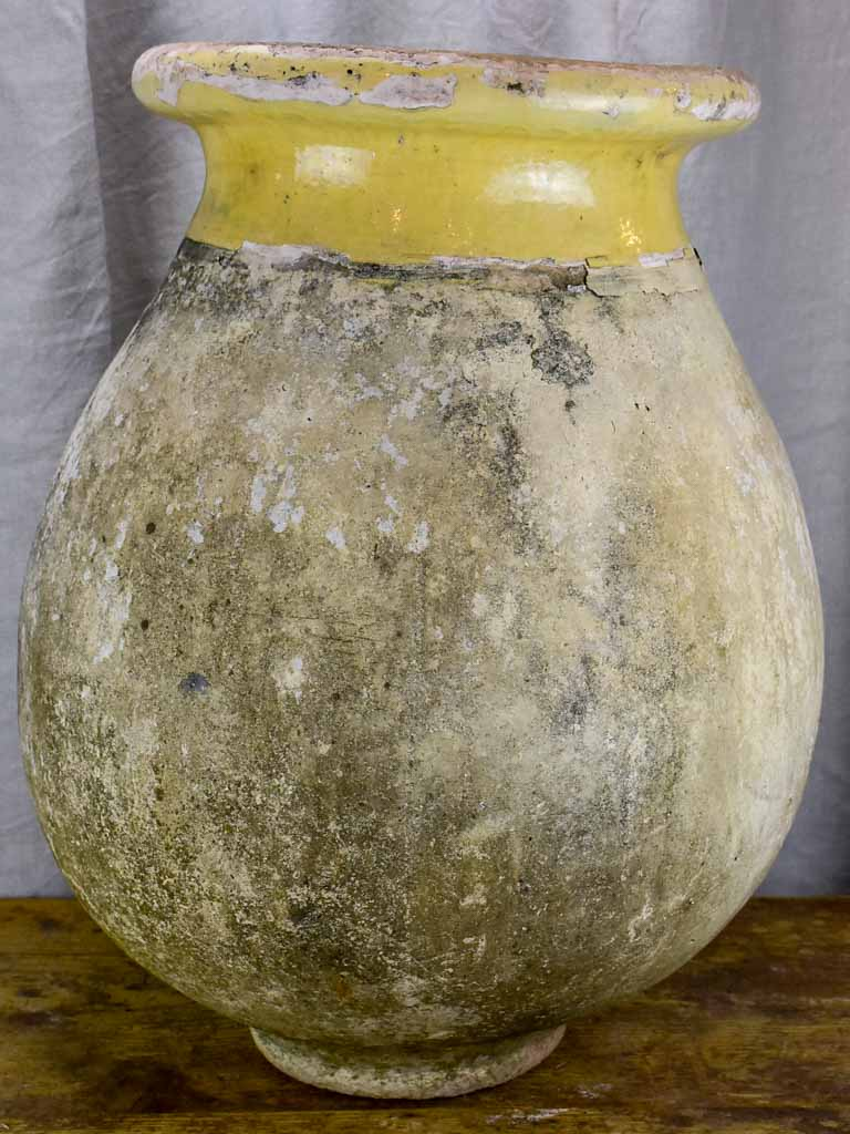 Mid-size 19th Century Biot jar - French olive jar 24""