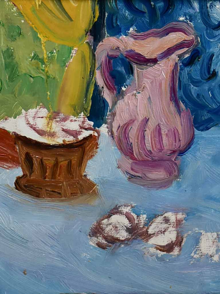 "20th Century oil on board - Still life - Anna Costa 12½"" x 14¼"""