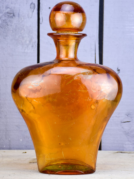 Large vintage flask from a perfume boutique