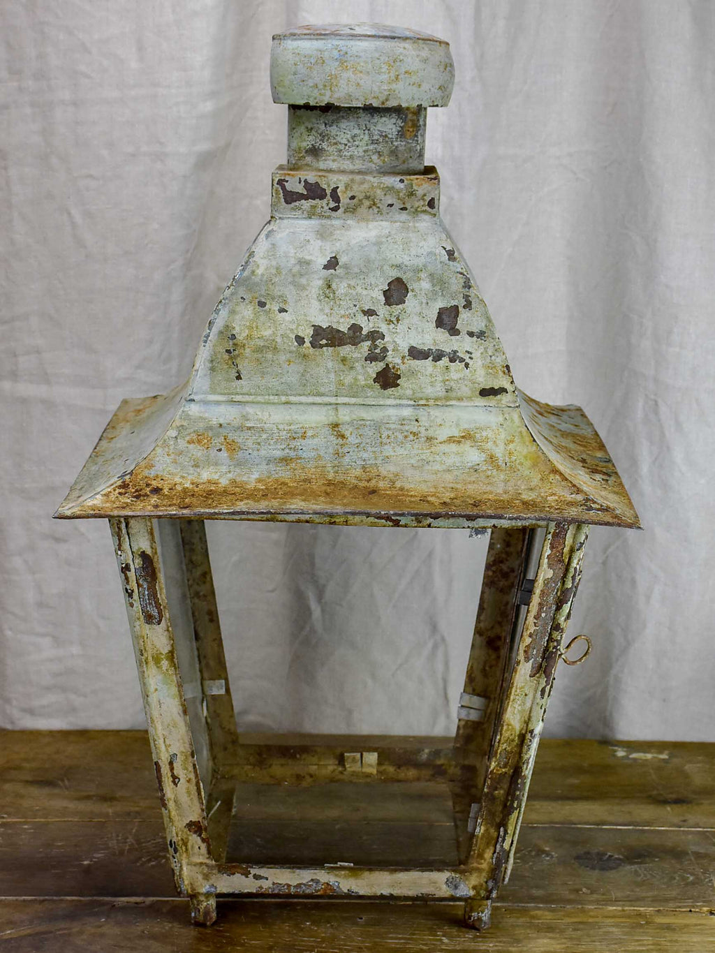 Very large antique French lantern