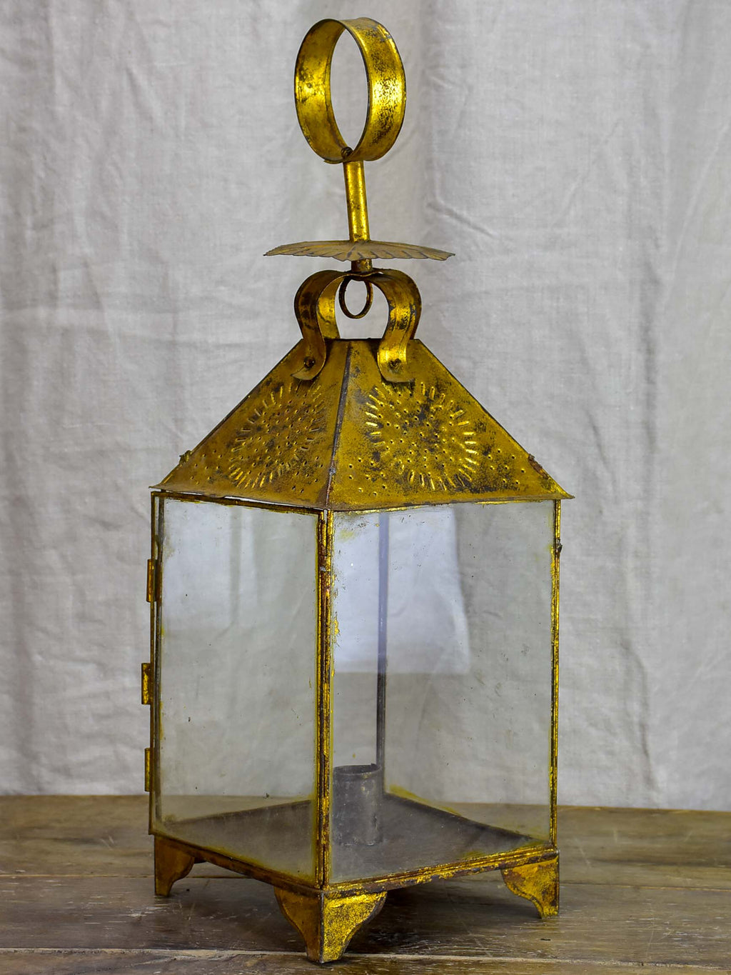 Antique Spanish candle lantern
