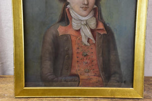 "18th Century pastel of a Revolutionary leader 23¾"" x 32¾"""