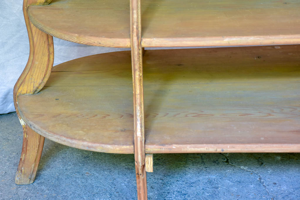 Rare antique French four tier florist presentation table