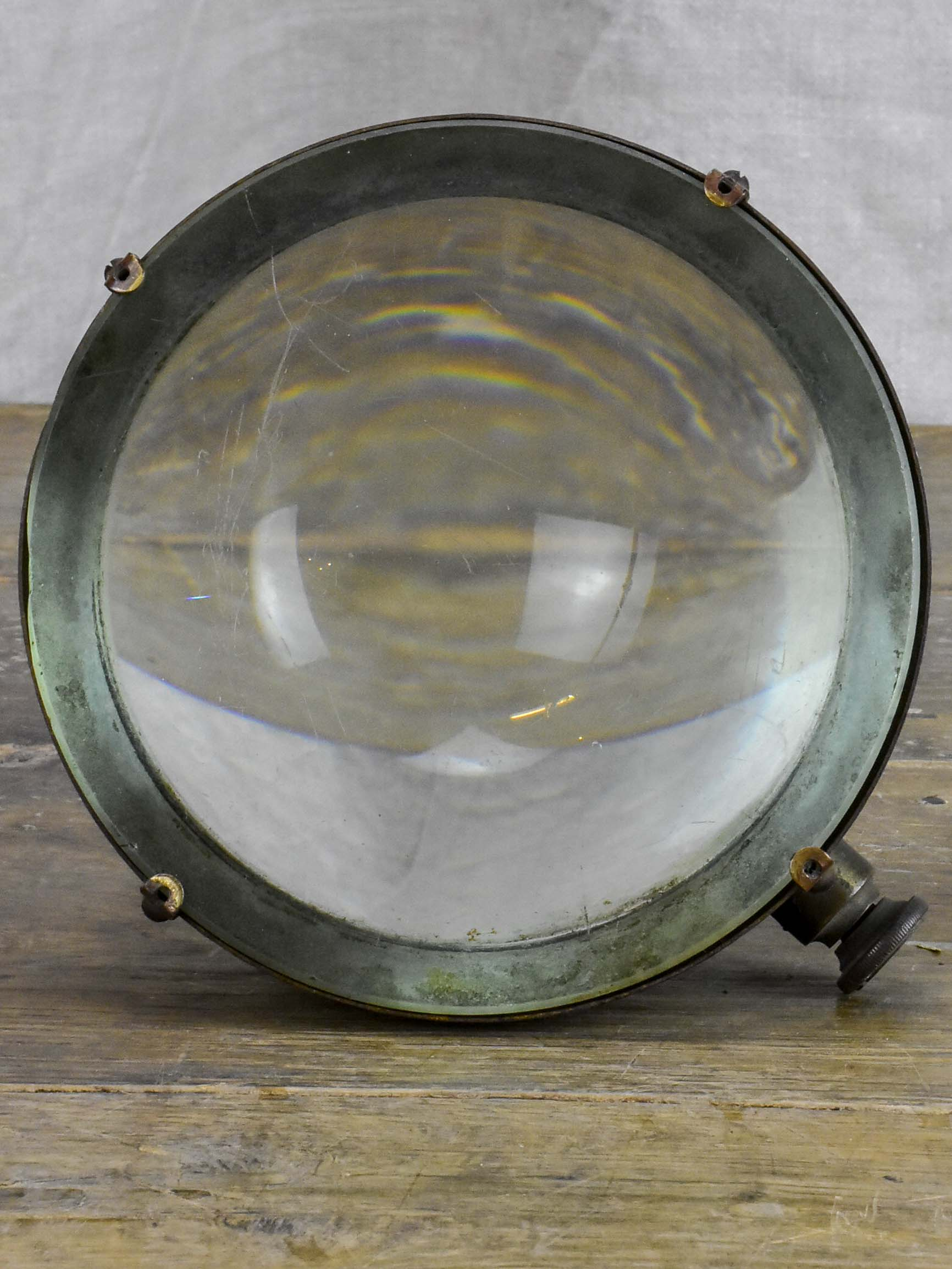 Antique French optical loupe