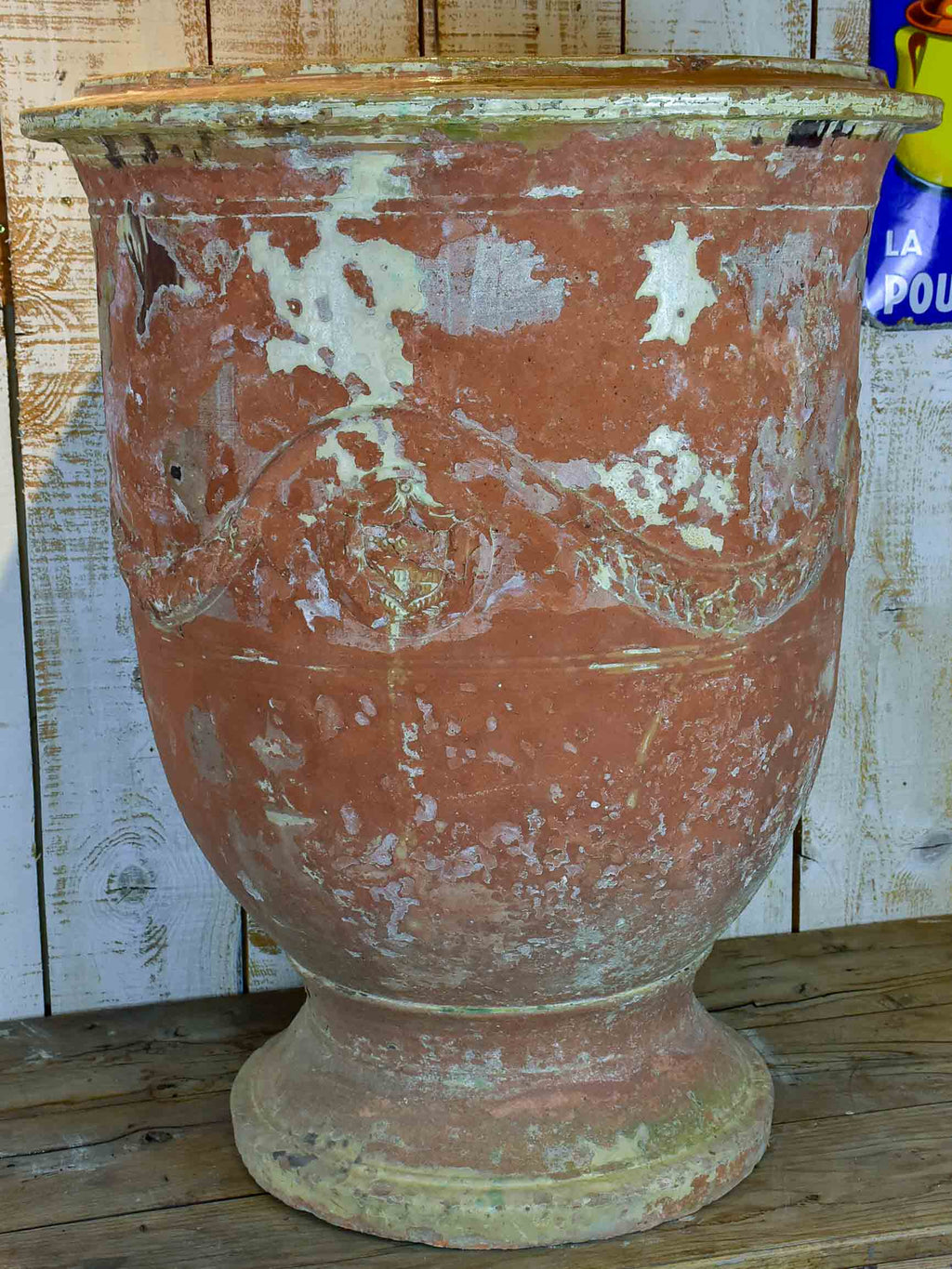 Very large 19th Century Anduze urn