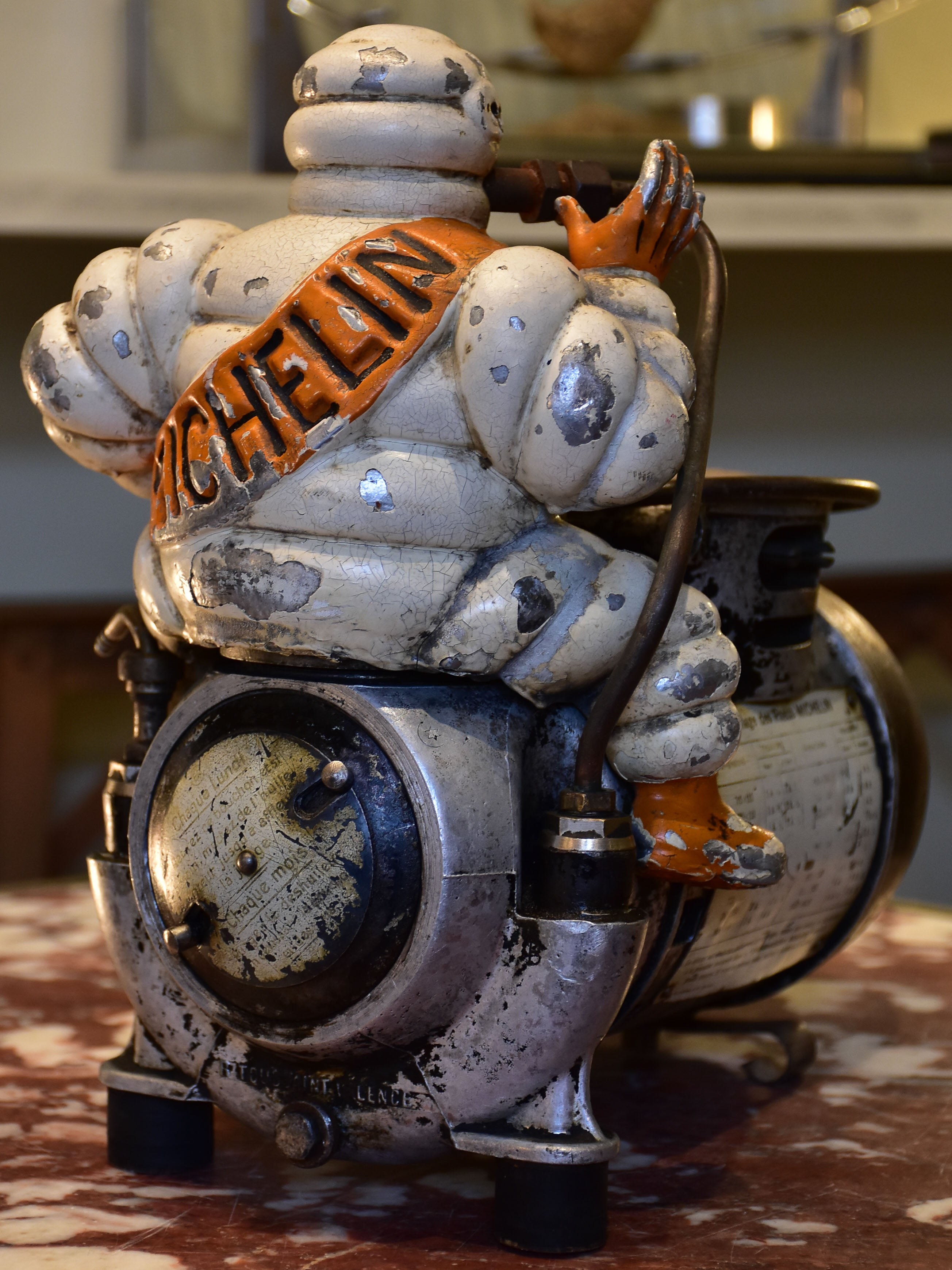 Michelin man air compressor - 1920's
