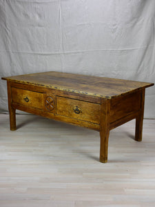 "Antique French coffee table 29¼"" x 52¾"""