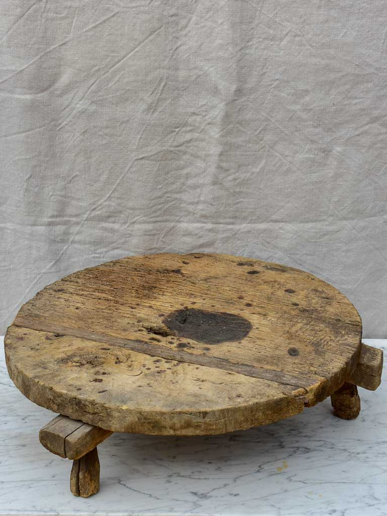 Primitive timber lid / low table