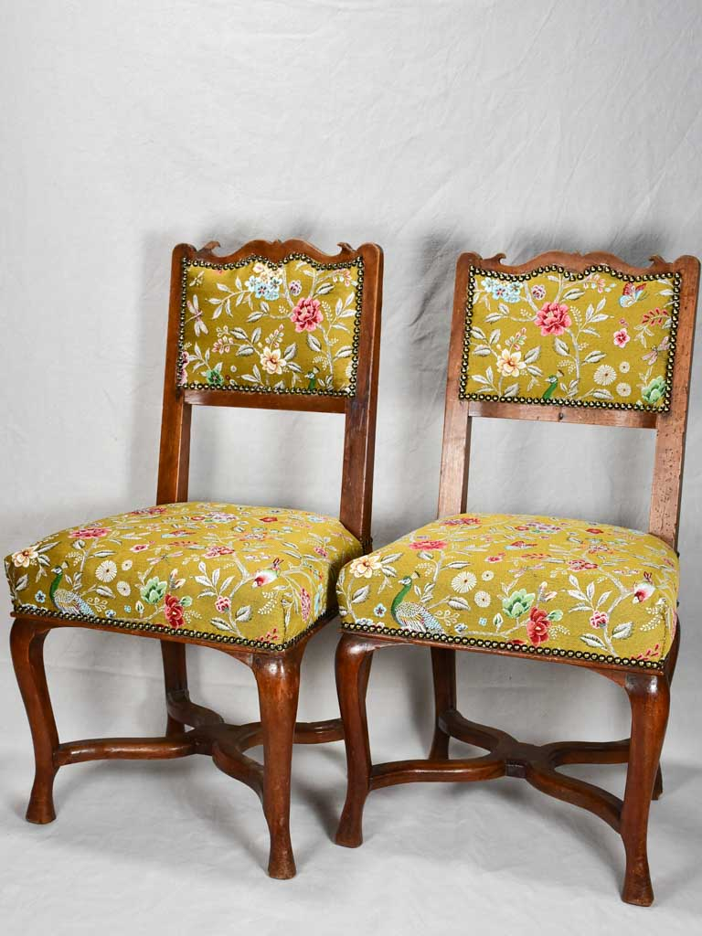 Pair of early eighteenth-century chairs