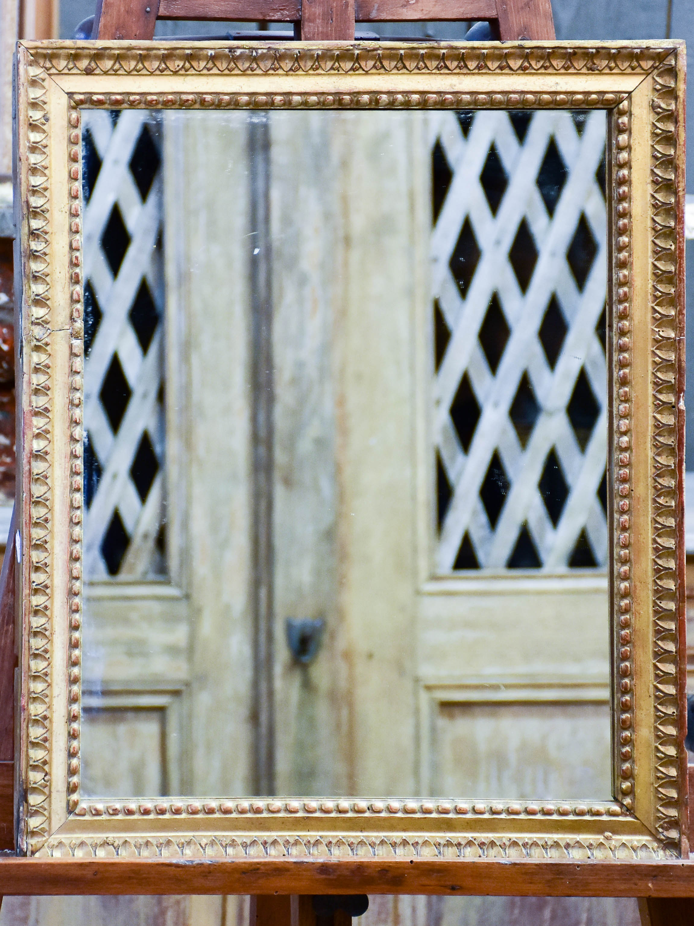 Small 18th century Louis XVI mirror