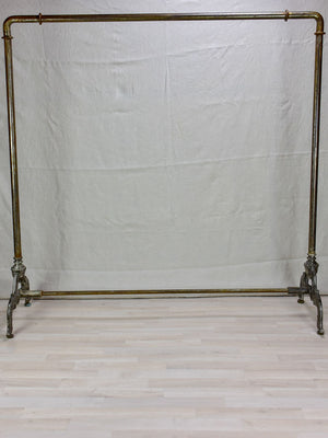 1930's French clothes rack from a boutique 59""