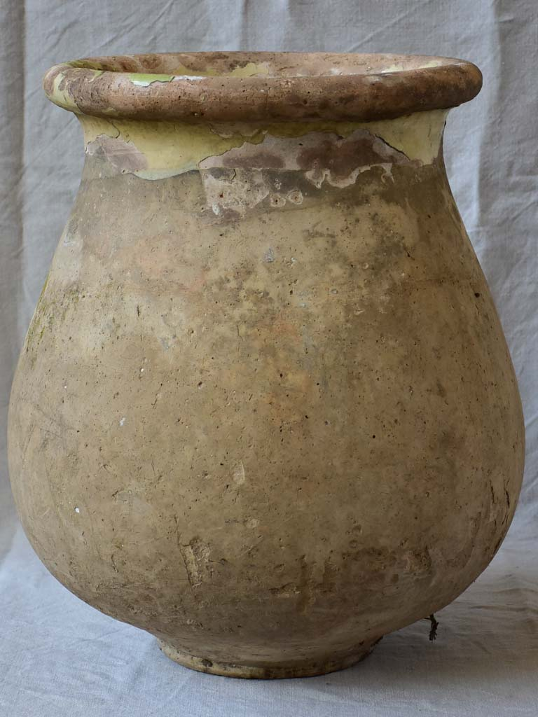 18th Century French Biot Jar 20½""