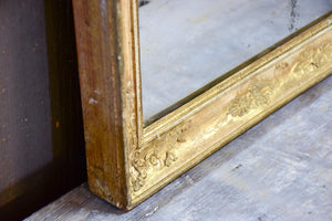 Small 19th century Empire mirror