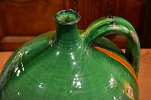 19th century Castelnaudary oil jug