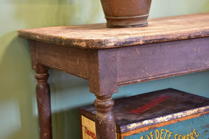 Antique French draper's table
