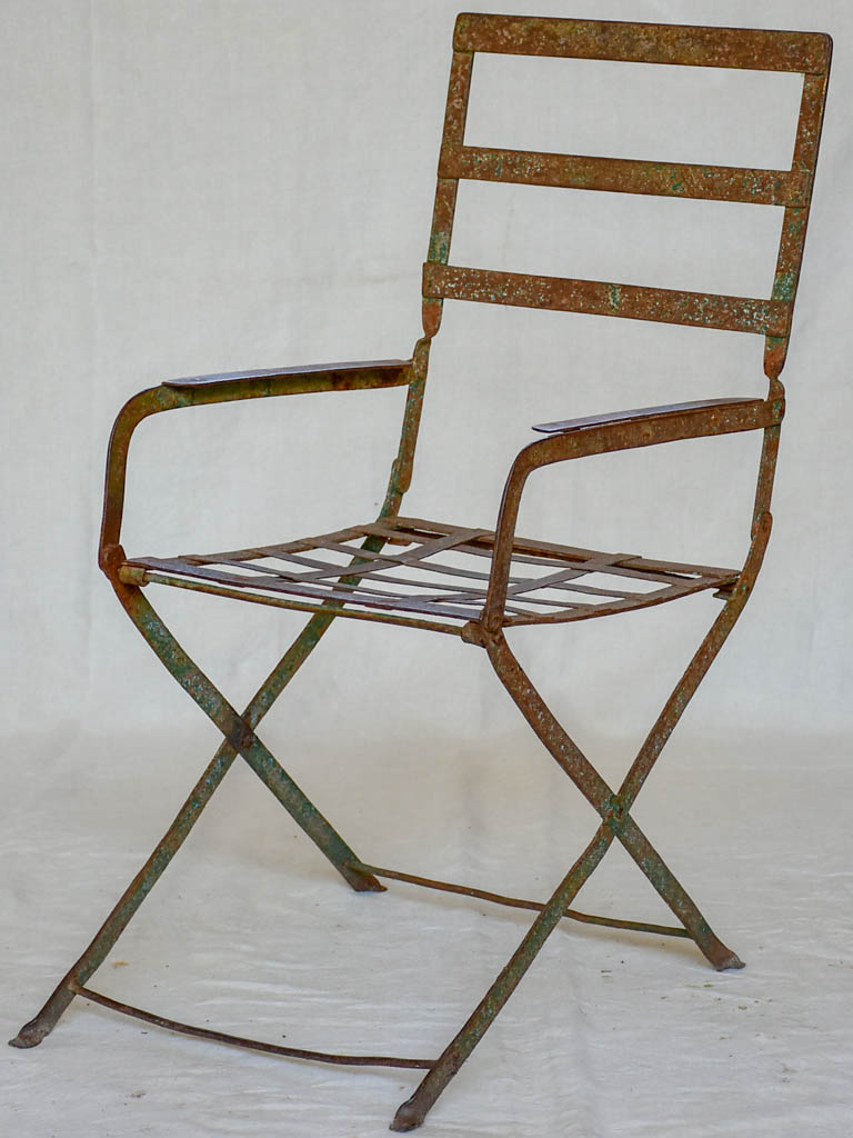 19th Century garden armchair