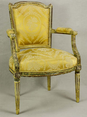 Pair of Louis XVI period armchairs