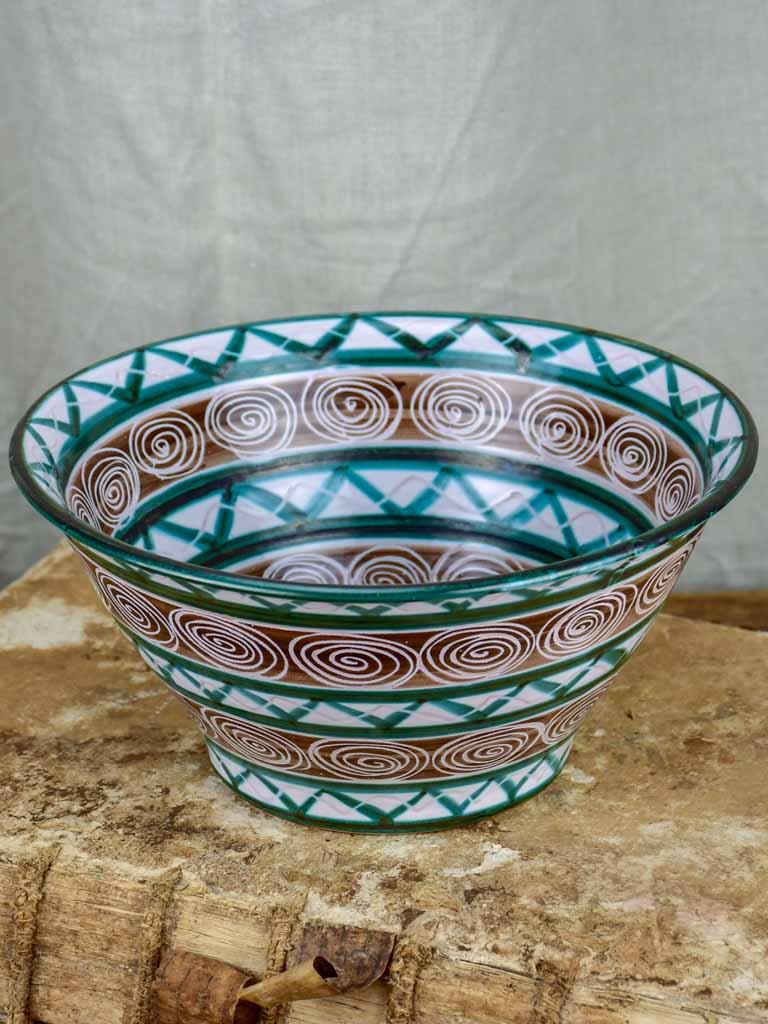 Original 1950's Robert Picault salad bowl