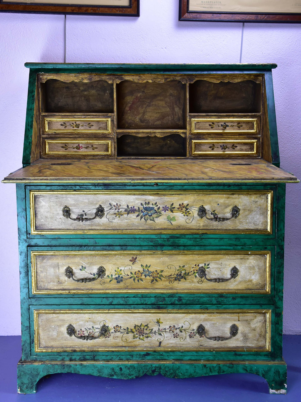 Antique Spanish secretaire