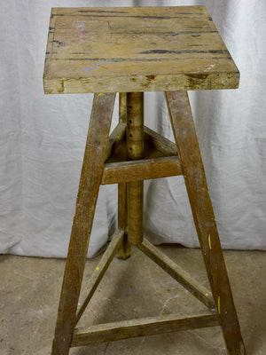 Antique French sculptor's table