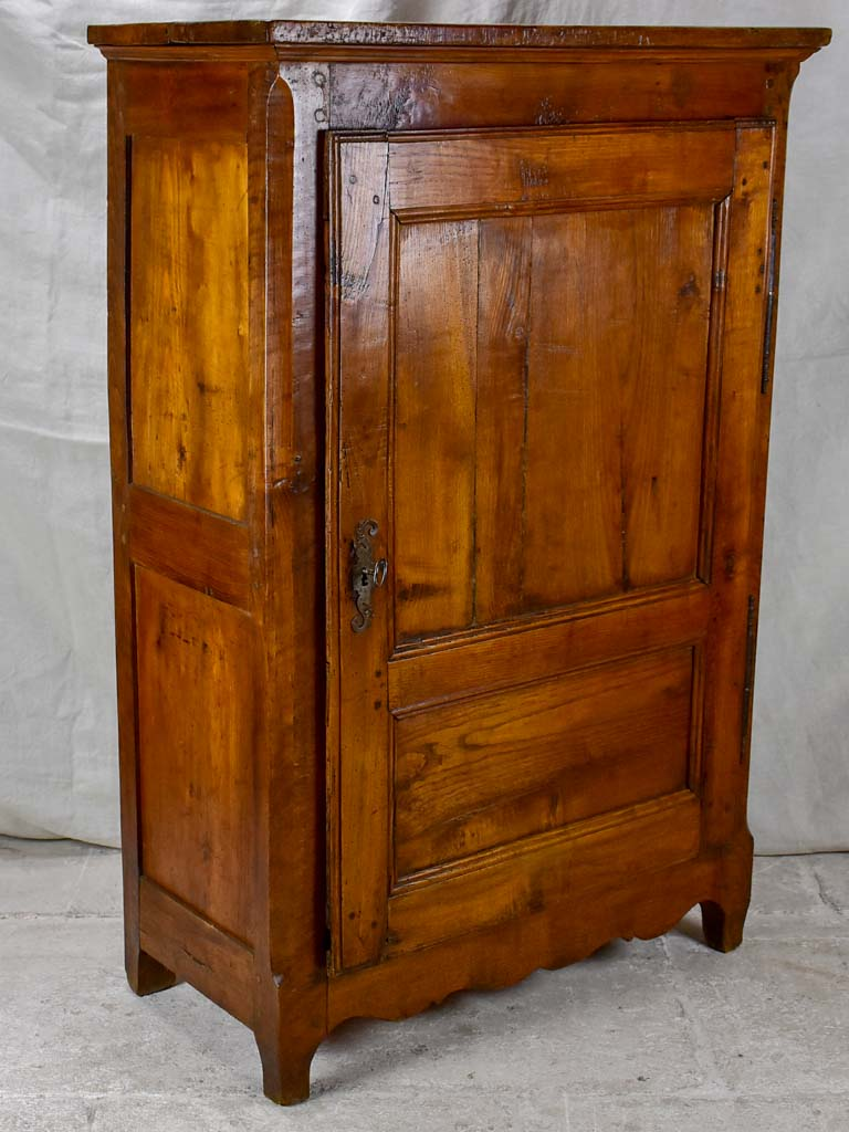 19th Century French country confituriere / kitchen cupboard - chestnut