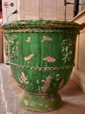 Two very large 19th century French garden pots