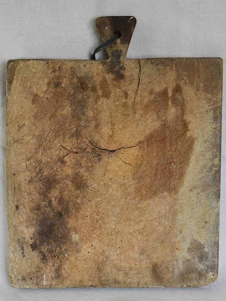 "Rustic antique French cutting board 12¼""x 16¼"""