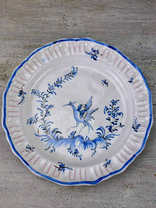 Mid century hand painted Mousiters plate