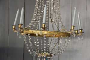 Large Italian Empire chandelier - early 19th century