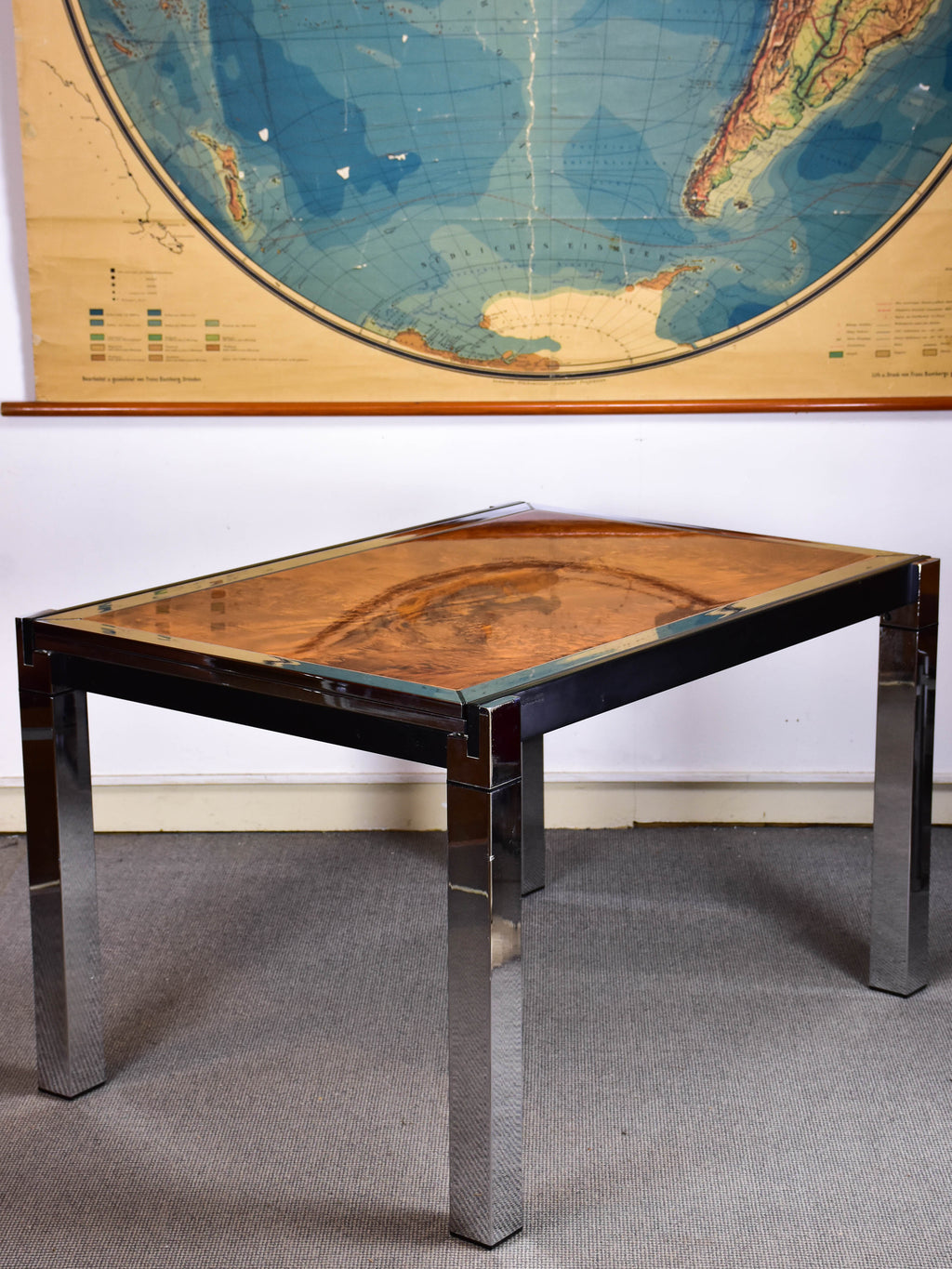 Willy Rizzo extendable dining table