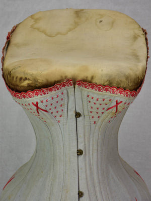 Antique French mannequin with corset