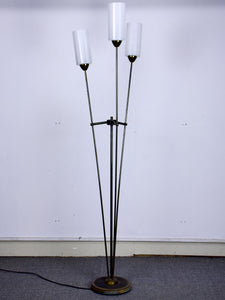 Mid-century floor lamp - three lights