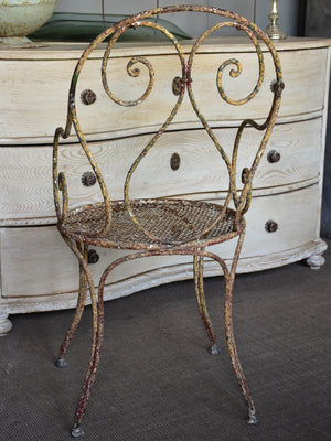 Romantic French garden armchair