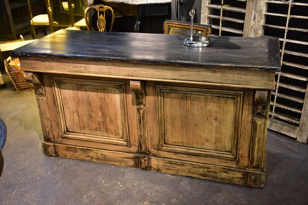19th century French bakery counter