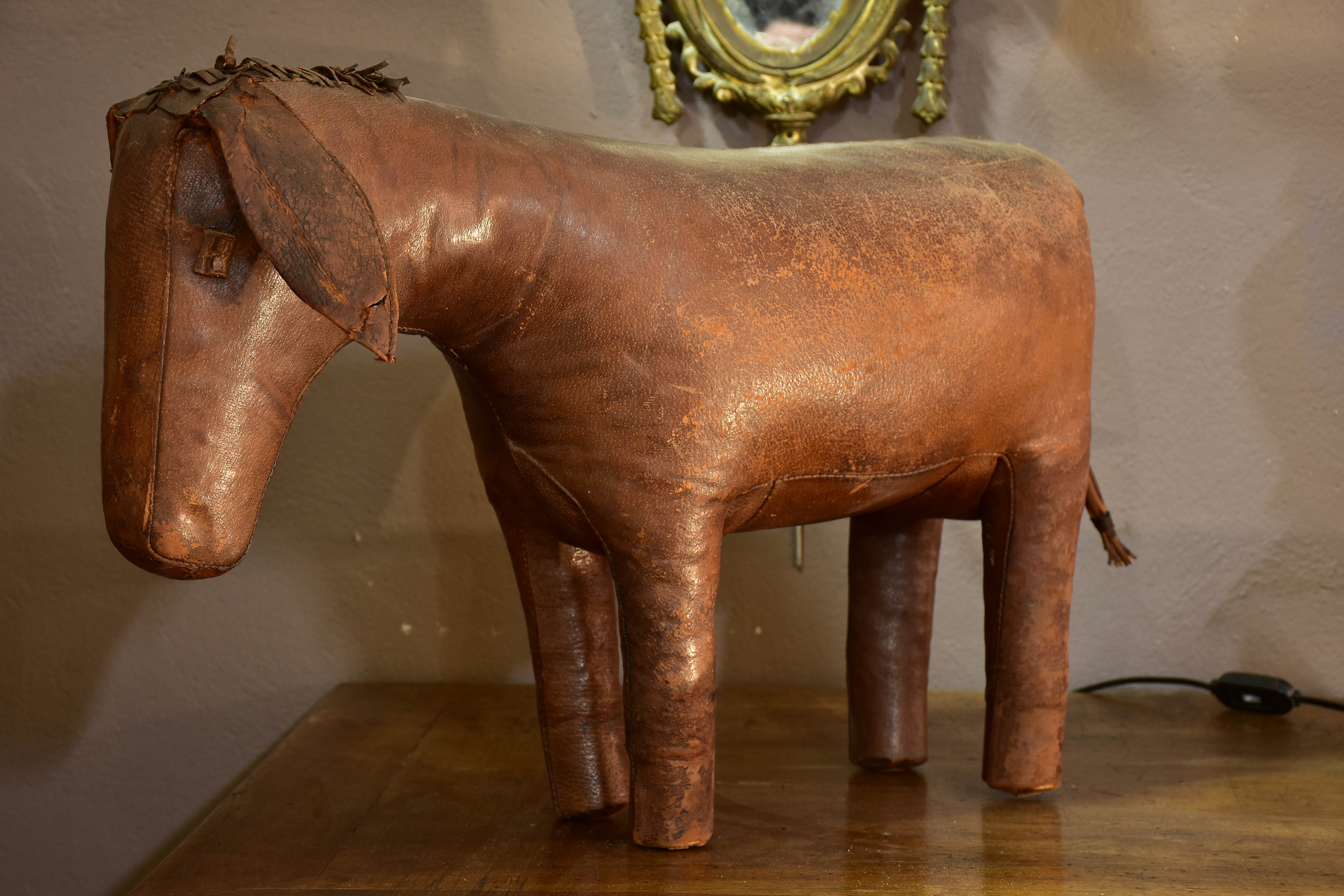English leather donkey by Ormesa for Abercrombie and Fitch