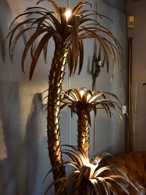 Maison Jansen palm tree floor light – 1970's