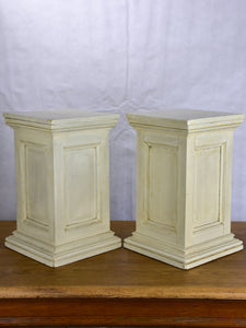 Pair of antique French display stands