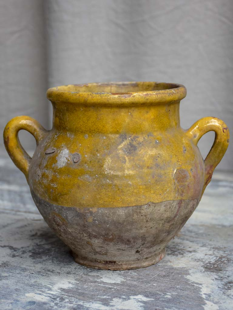 Rustic French confit pot 7 ½""