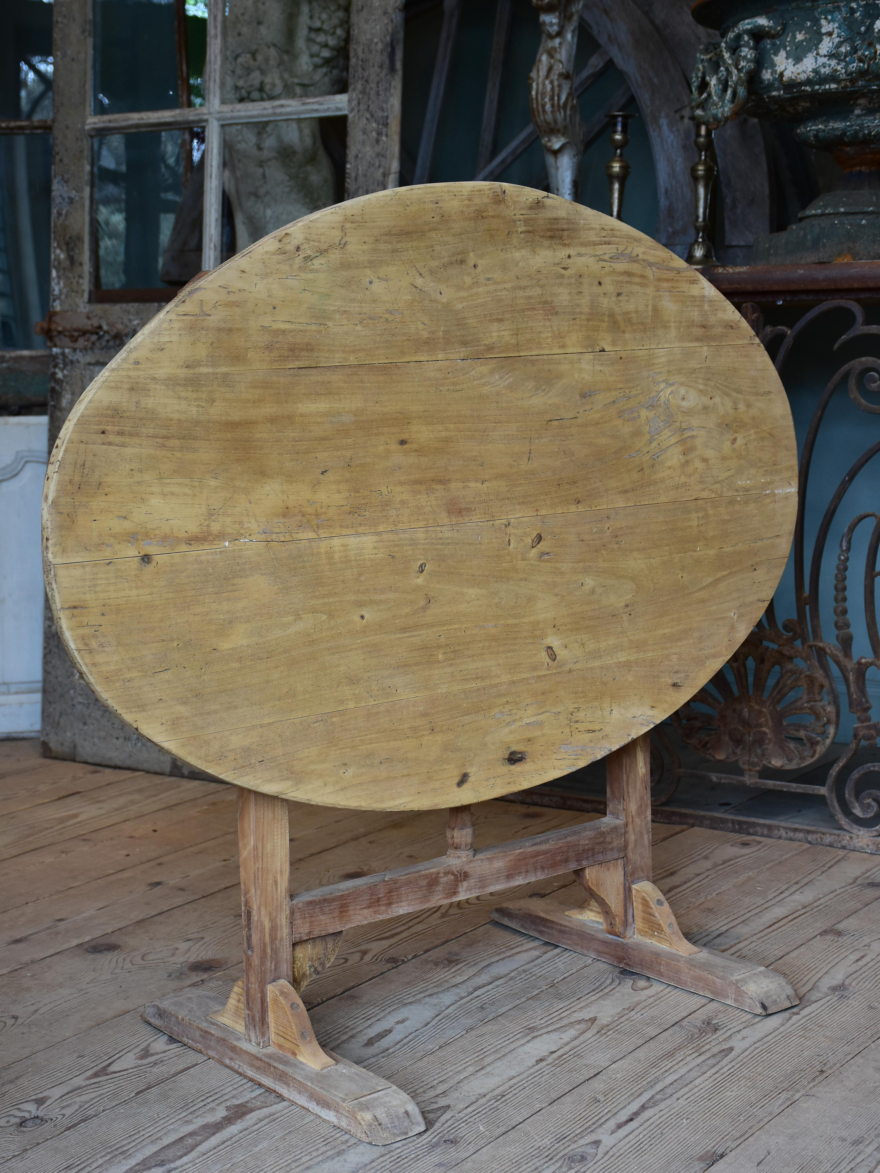 19th century French vigneron's folding table