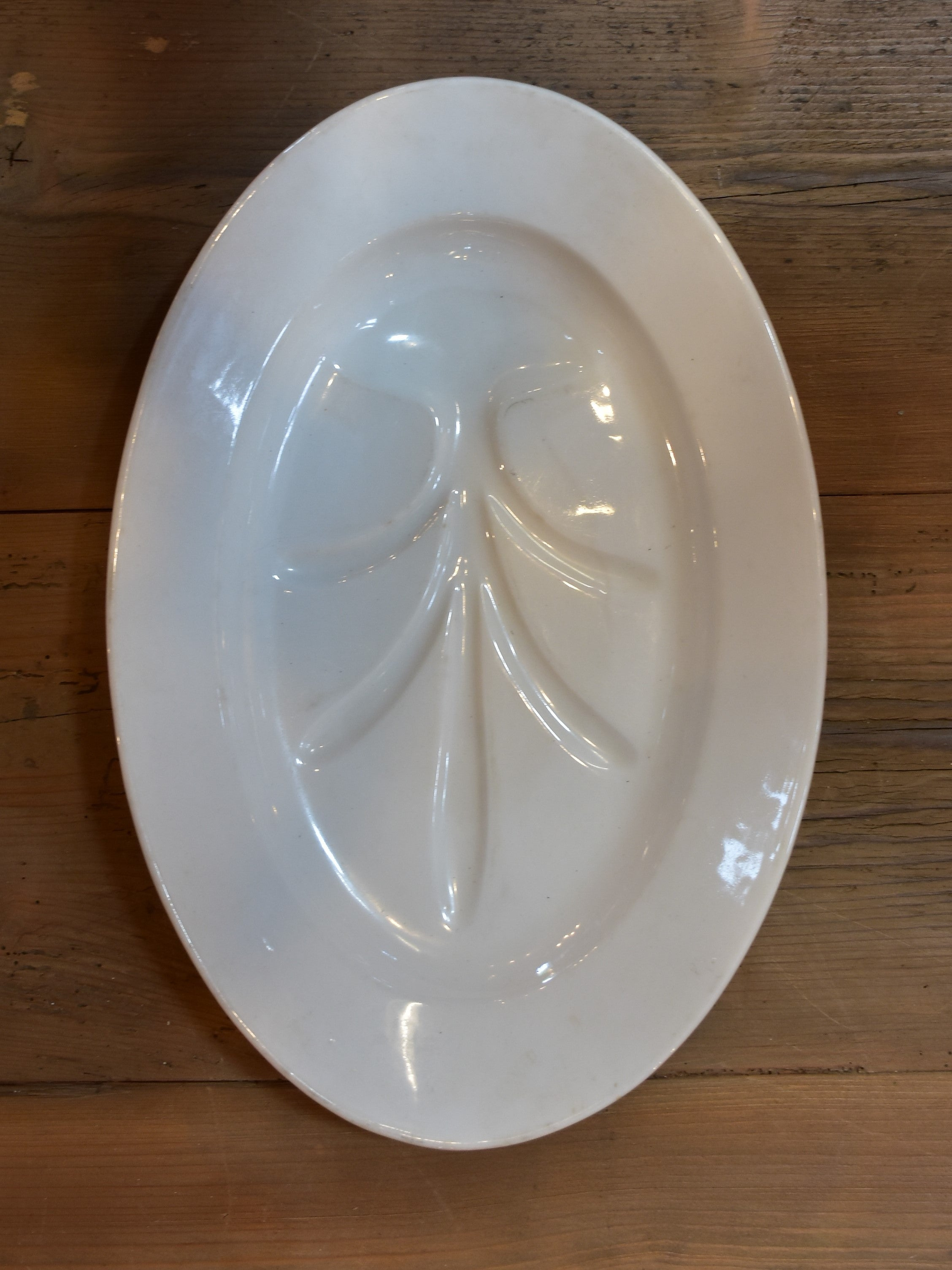 19th century French earthenware platter – oval