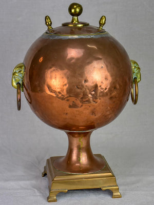 19th Century French copper water fountain