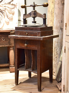 Antique French book press – Chez Pluie