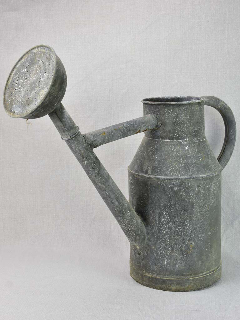 Early 20th Century French zinc watering can