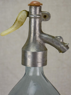 Early 20th Century light blue Seltzer siphon