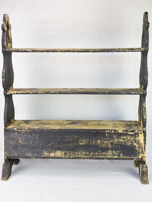 "RESERVED AM Napoleon III shelving unit form the 19th century 28"" x 31½"""