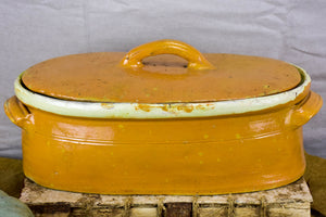 Large vintage French tureen dish