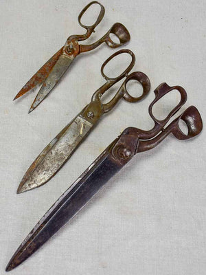 Early 20th Century tailor's scissors 3/3
