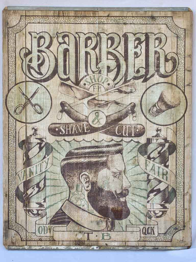 "Large Barber shop sign - Artuss 2017 43"" x 57"""