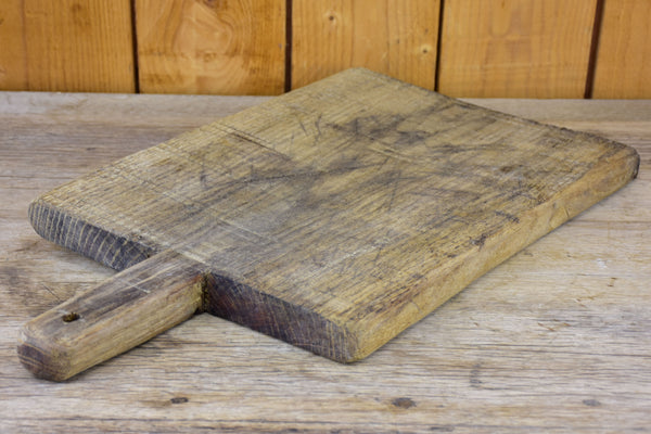 Antique French cutting board - rectangular