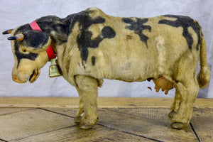 Vintage mechanical cow with bell